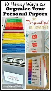 7784 best a organized nest images on pinterest With organizing documents at home
