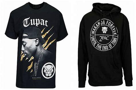 tupac shakur meets black panther   clothing
