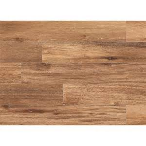 shop style selections timber gunstock wood look porcelain floor and wall tile common 6