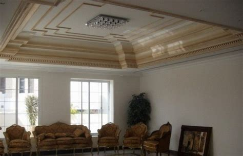 model desain plafon rumah mewah interior rumah