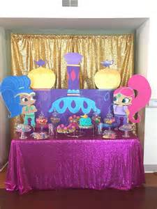 Doc Mcstuffins Birthday Decorations by Shimmer And Shine Birthday Party Ideas Photo 3 Of 12