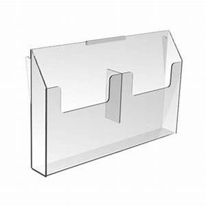 amazoncom 85quot x 11quot letter size clear acrylic brochure With lucite letter holder