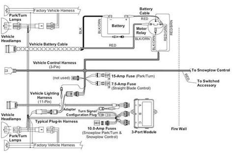 Minute Mount 1 Headlight Wiring Diagram by Hiniker Plow Wiring Diagram