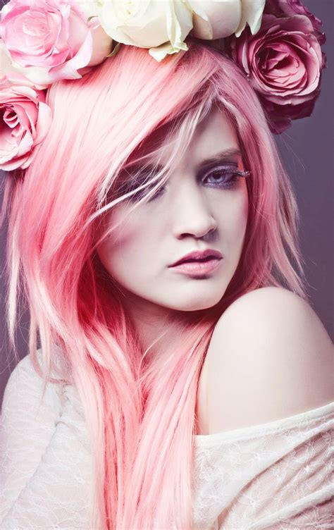 Pink Dyed Hair Dyed Hair And Pastel Hair Pinterest