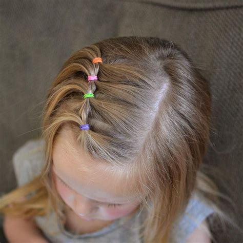 Easy Kid Hairstyles by 17 Best Ideas About Toddler Hairstyles On