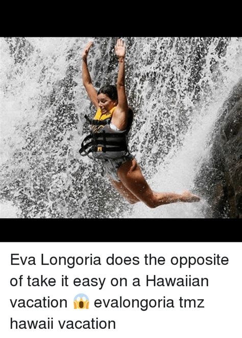 Eva Longoria Does The Opposite Of Take It Easy On A