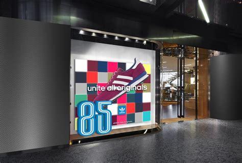 large glass windows retail window display design visual marketing for brands