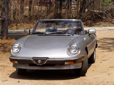 1984 Alfa Romeo Spider  Information And Photos Momentcar