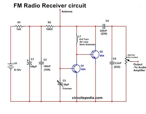 Very Simple Radio Receiver Circuit Circuitspedia