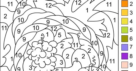 nicoles  coloring pages color  number thanksgiving coloring page