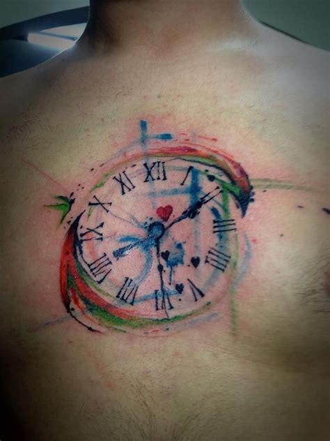 22 Superbes Idées Pour Un Tatouage D'horloge Pour Une