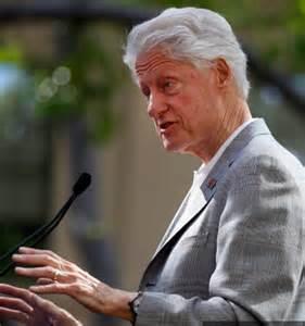 Bill Clinton Looking Frail