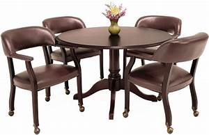 Round Office Table And Chairs Marceladick com