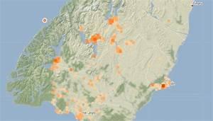 Quake Strikes Off Fiordland