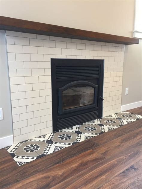 great tile ideas  small bathrooms fireplace tile
