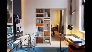 lamenagement du bureau a la maison youtube With bureau de maison design