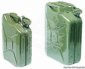 Bidon Alimentaire 20l : jerrican 20 litres jerrycan acier 20l accessoires ~ Edinachiropracticcenter.com Idées de Décoration