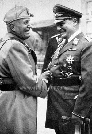 Benito Mussolini and his Survivors