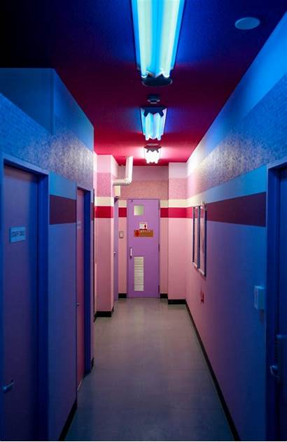 Neon Lighting Aesthetic Glow Vaporwave Cyberpunk Glowing