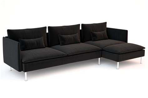 ikea soderhamn sofa ikea soderhamn sofas 3d models cgtrader