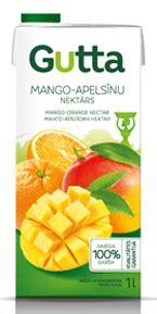 Mango-apelsīnu nektārs - Gutta Gutta