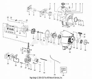 Poulan S31bc Snapper Gas Trimmer  Snapper S31bc Gas Trimmer Parts Diagram For Engine Assembly