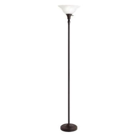 torchiere floor l home depot hton bay 72 in bronze torchiere floor l with