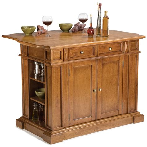 kitchen island with breakfast bar home styles cottage oak kitchen island with breakfast bar