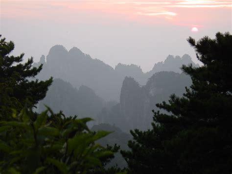 huangshan mountains  china stock photo freeimagescom