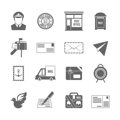 icone de bureau icônes de bureau de poste télécharger des vecteurs