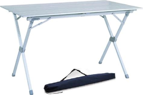 roll up aluminium table 1 best buy 4 6 person aluminum roll up top folding