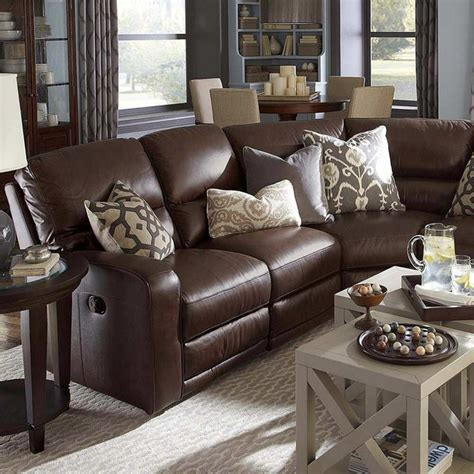 Living Room Decorating Ideas For Brown Sofa by Living Room Decorating Ideas With Brown Leather