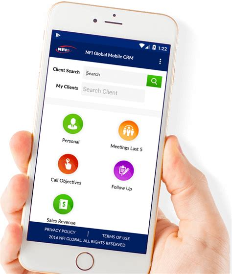 mobile customer relationship management make crm mobile application to manage your customers and