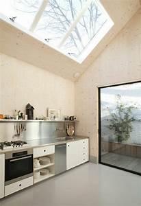 Cuisine Bois Clair : cuisine moderne bois clair affordable diy une suspension ~ Melissatoandfro.com Idées de Décoration