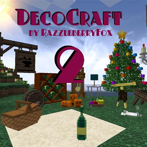 decocraft 2 mod for minecraft 1 12 1 11 2 1 10 2 mr 1 12