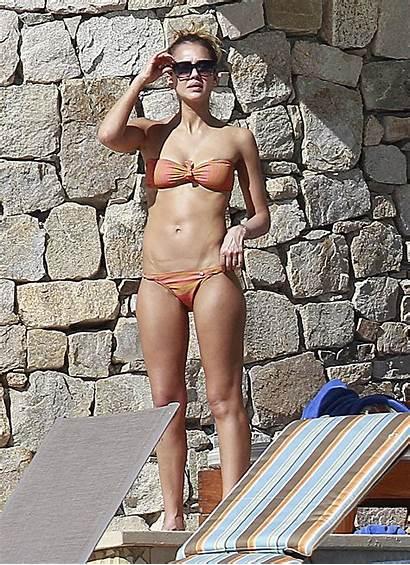 Alba Jessica Bikini Toned Skimpy Shows Bodies