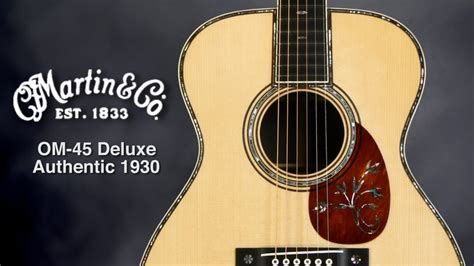 martin om  deluxe authentic  acoustic guitar review