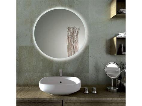 illuminazione led per specchio bagno sole specchio bagno led tondo