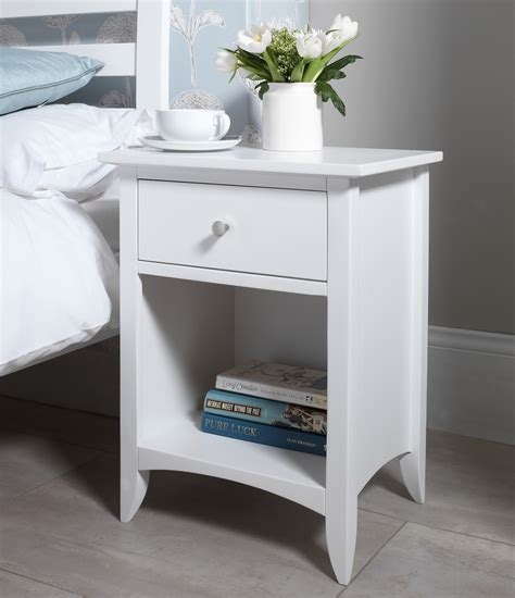 side tables for bed edward hopper white furniture bedside table chest of