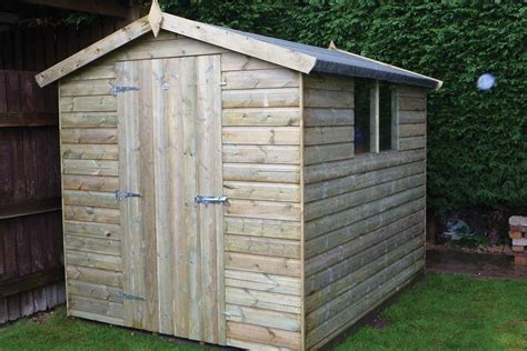Garden Shed : Timber Sheds, Pressure Treated For A Longer Life