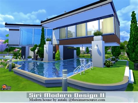 sri modern design ii house  autaki  tsr sims  updates