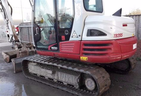digger bidder  takeuchi tb excavator