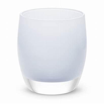 Glass Candle Blown Glassybaby Votive Cashmere Holder