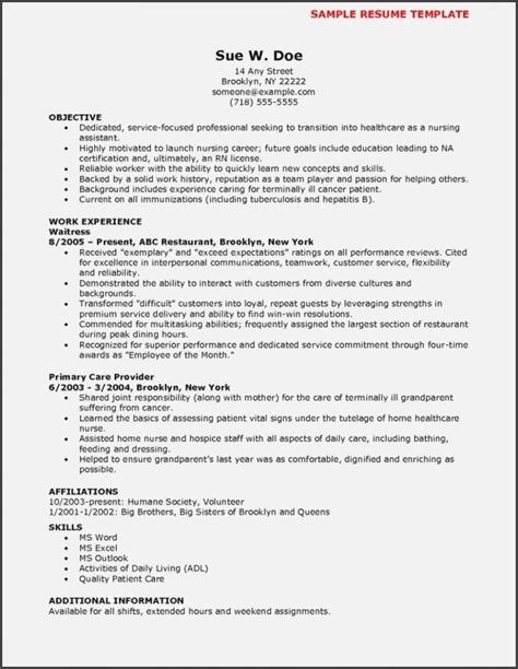 Resume For Cna by Top 15 Trends In Resume Realty Executives Mi Invoice