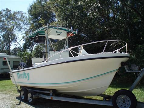 Used Fishing Boats For Sale by Used Dusky Boats For Sale In United States Boats