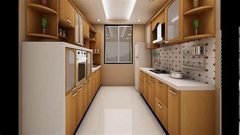 Interior Kitchen Ideas - indian parallel kitchen interior design youtube