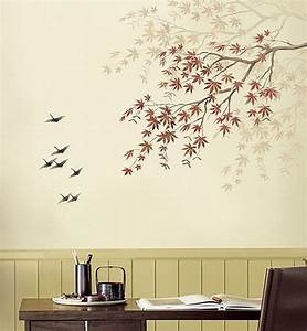 Refresh your walls with diy stencil art