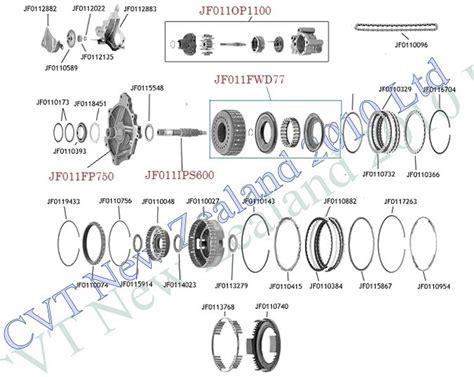 nissan cvt reof cvt jf page  cvt parts limited