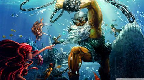 Poseidon 4k Hd Desktop Wallpaper For 4k Ultra Hd Tv