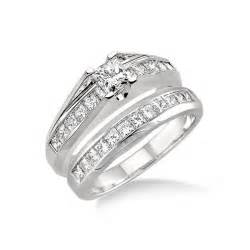 discount wedding ring sets affordable wedding ring set on jewelocean